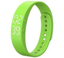 [Upgrade Version]Smart Pedometer Watch NonBluetooth Vibration Alarm Sport Bracelet Fitness Tracker Smart Watch with Timer Step Calories Counter Distance Time   Date for Walking Kids Women Men